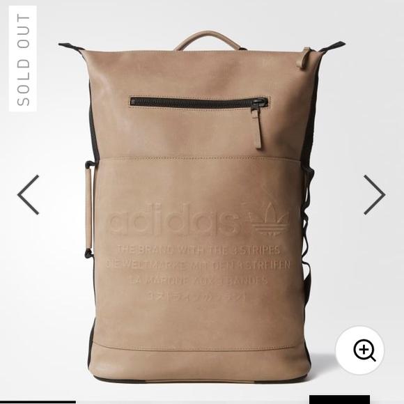 ca86a0ddf Adidas Original NMD Day Cardboard Leather Backpack